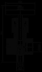 Клапан трехходовый типа 1с-17-1 (1093-10-0)
